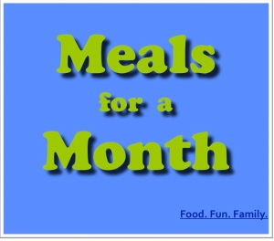 Meals for a Month