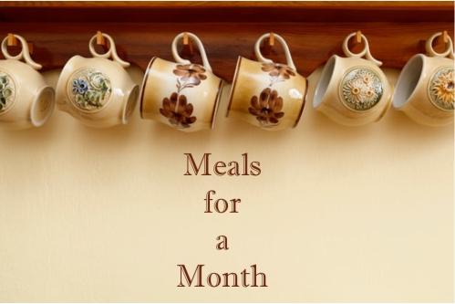 blog meals month
